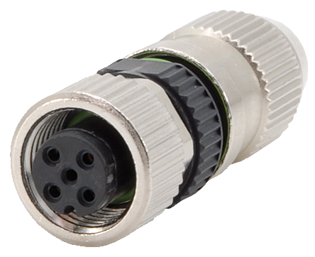 SOCKET M12 ENCHUFE CABLE DE BACKHUS 21.55.1000